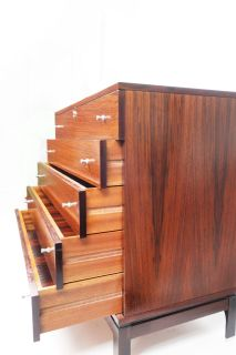 Italian Rosewood Chest of Drawers by M.I.M., c. 1960