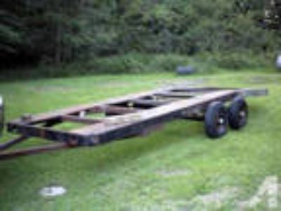"18' 6"" Car Hauler Trailer. Beavertail."