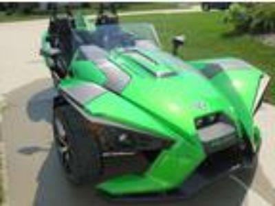2018 Polaris Slingshot SL Special Edition Green