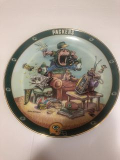 Green Bay Packers collectible plate