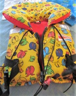 Water safety vest for yound child size mini