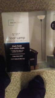 3 lamps 1 new in box 2 assembled like new need gone tonight