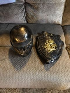 Hat and shield