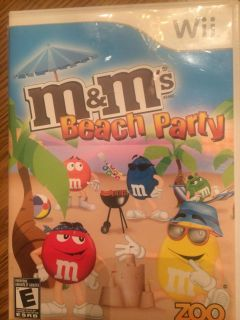 Wii game M&M s Beach Party