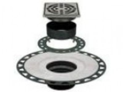 Schluter Kerdi-Drain Kit Tileable Grate ABS KDABSECS