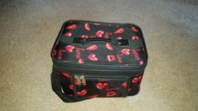 Travel toiletries and makeup case