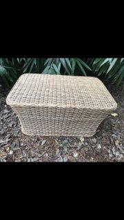 Wicker Coffee or End Table