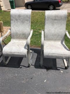 Pair of Lawn Chairs