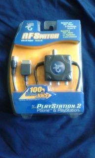RF Switch With AV Output for Playstation 2, PSone and Playstation (dreamGEAR)
