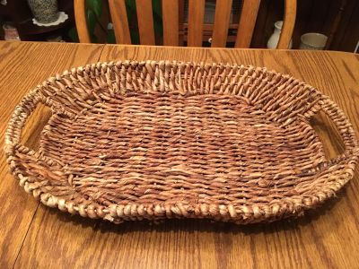 Large Wire Inlay Basket