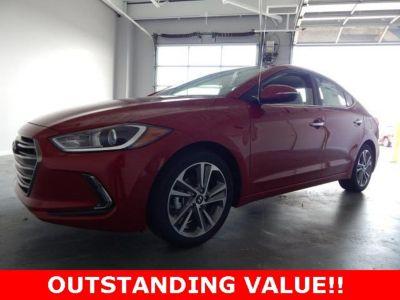 2017 Hyundai Elantra Limited (Red)
