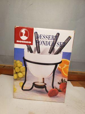 Roshco Dessert Fondue Set - Open Box Unused