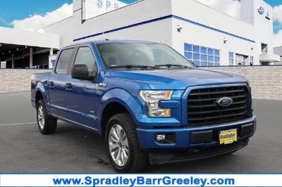 2017 Ford F-150 XL (Lightning Blue)