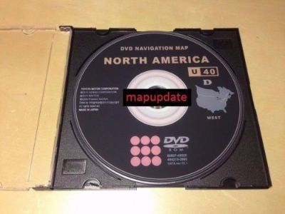 Find New 2016 Gen 5 Toyota Lexus Scion WEST Navigation Map Update DVD Ver 15.1 U40 motorcycle in Wadsworth, Ohio, United States, for US $19.95