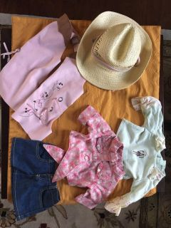 American Girl Doll Cowgirl clothes