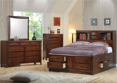 Manhattan Queen size Captain Storage Bed