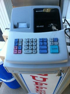Sharp XE-A102 electric cash register