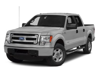2014 Ford F-150 XLT (Red)