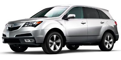 2012 Acura MDX Base w/Advance (Silver)