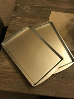 Two new cookie sheets