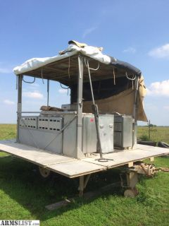 For Sale: Military trailers