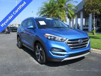 2018 Hyundai Tucson Limited (Caribbean Blue)