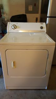 Whirlpool washer and dryer set, GUC, works great