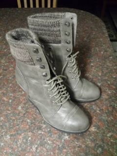 Taupe boots sz 8.5 $15