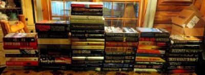 108 HB & SB Mystery / Crime / Thriller Genre Books of Best Selling Authors