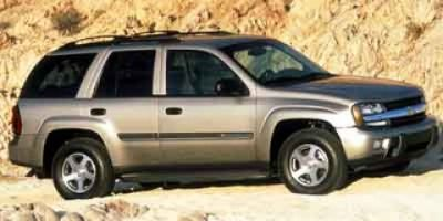 2002 Chevrolet Trailblazer LS (Majestic Red Metallic)