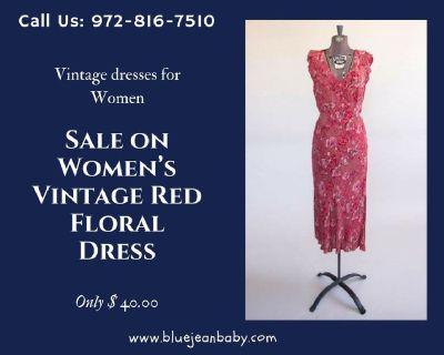 Best Vintage Dresses in Fashion Boutique in Dallas