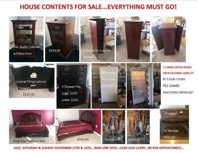 Household Items Sale