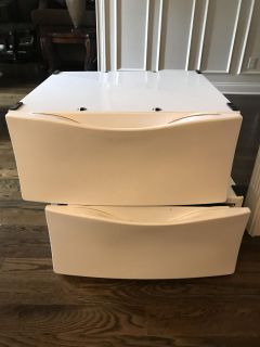 Washer and Dryer pedestals. Great condition.
