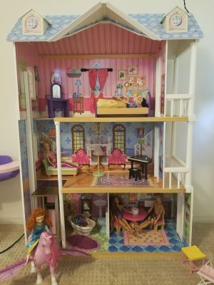 Wooden Barbie Dream House