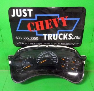 Sell 05 Chevy Silverado GMC Sierra 1500 2500 3500 Speedo Instrument Gauge Cluster 75K motorcycle in Lebanon, Maine, United States, for US $199.95