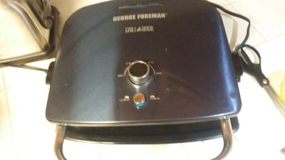 George Foreman Grill And Broil Counter Top