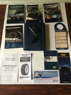Find 2011 LAND ROVER RANGE ROVER SPORT DRIVER'S OWNER MANUAL WITH A CASE AND KEY motorcycle in Missouri City, Texas, United States, for US $99.99