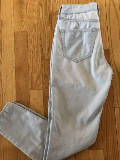 Aeropostale High waisted ankle jegging Sz 0