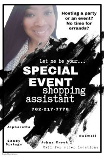 Special Events Shopping Assistant