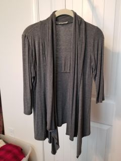 Light weight gray cardigan