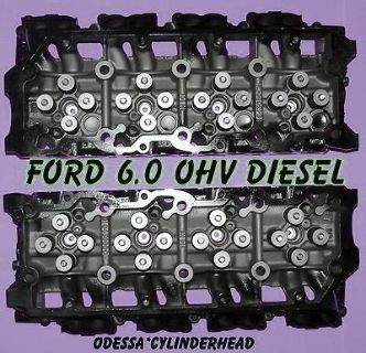 Purchase NEW PAIR FORD 6.0 TURBO DIESEL F350 TRUCK CYLINDER HEADS 18MM motorcycle in Clearwater, Florida, US, for US $1,400.00