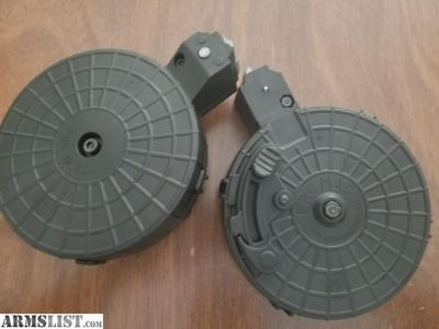 For Sale: (2) Ruger 10/22 promag drum