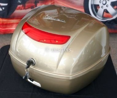Find VESPA LX50 LX125 LX150 Top Box 32LT Bronze (#67394900GV) NEW OLD STOCK ! motorcycle in Marietta, Georgia, United States, for US $179.95