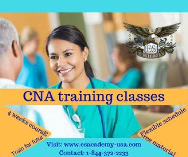 Winter Certified Nurse Aide Classes