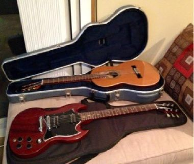 $500 Gibson SG Faded Series Electric Guitar