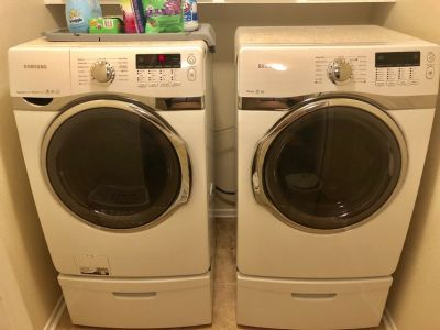 Samsung Washer and Dryer (Gas)