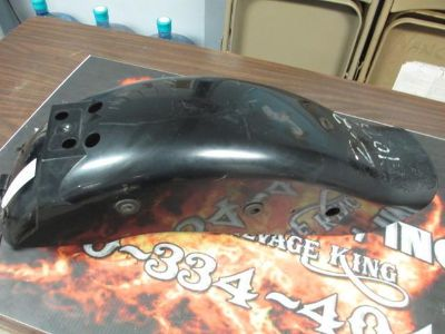 Sell E-10-2 SUZUKI 1999-2001 GZ250 GZ 250 (BLACK) REAR FENDER OEM # 63110-12F20-Y7L motorcycle in Camp Hill, Alabama, US, for US $60.00