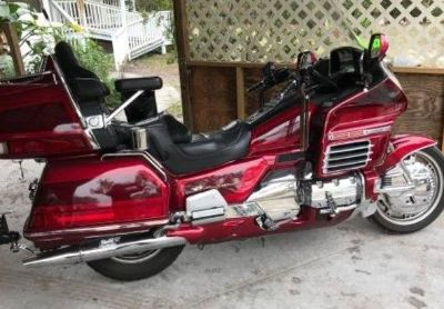 2000 Honda Gl1500-Goldwing