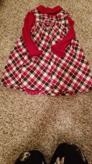 Gymboree onsie and dress size2T