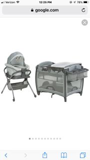 Graco playard And bedside sleeper